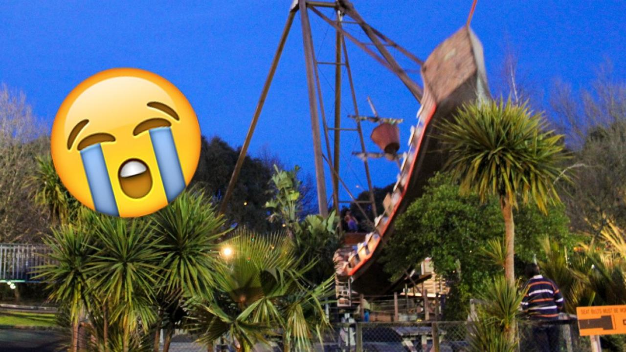 Month End Closing >> Rainbow's End are closing their iconic pirate ship ride